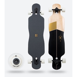 Surflogic Freestyle LB Black Series Complete Longboard board