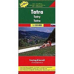Freytag & Berndt Autokarte Tatra; Tatry; Mount Tatra; Tatras; Monti Tatra - Buch