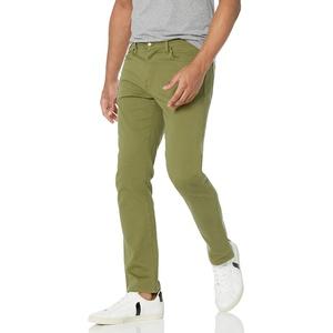 Amazon Essentials Slim-Fit Stretch Jeans, Olivgrün, 38W / 34L