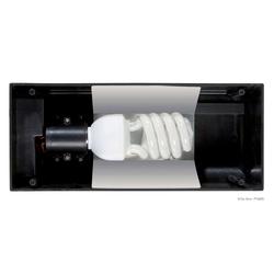 EXO TERRA Terrarium-Abdeckung Compact Top 30, für Terrarienlampen schwarz