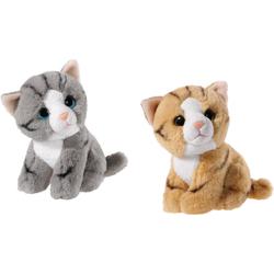 Heunec® Kuscheltier Mini Mi Katzen Set (Set, 2-St)