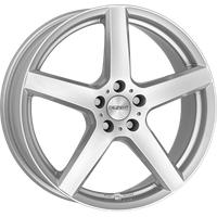 DEZENT TY silver 6x15 ET46 - LK4/100 ML54.1 Alufelge silber
