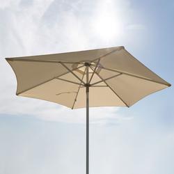 Alu-Sonnenschirm Natur, 250 cm