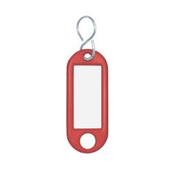 10 WEDO Schlüsselanhänger rot