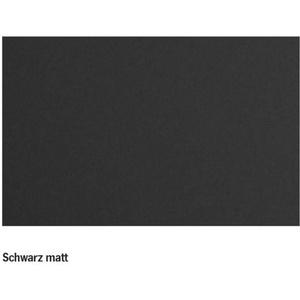Carbest Möbelfolie, Dekor schwarz matt, 62 cm x 230 cm, selbstklebend