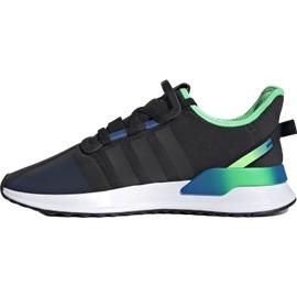 adidas U_Path Run core black/core black/shock lime 44 2/3