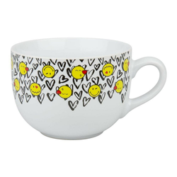 Waechtersbach Tasse Smiley In Love Jumbo, Keramik