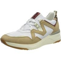 BUGATTI Damen 431A2L015455 Sneaker, Sand/Mehrfarbig, 40 EU