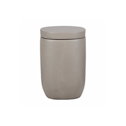 houseproud Aufbewahrungsbecher Soft Concrete Kosmetikdose, Beton