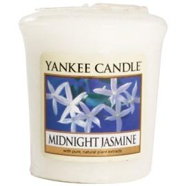 Yankee Candle Votivkerze Midnight Jasmine, 49 g Duftkerze Sampler