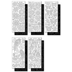Folia Sticker Ganzjahr, 10 Bogen
