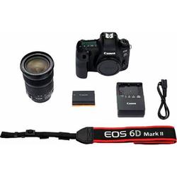Canon EOS 6D Mark II Spiegelreflexkamera (EF 24-105mm IS STM, 26,2 MP, NFC, HDR-Aufnahmen)