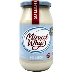 Miracel Whip So leicht Salatcreme mit fettreduziertem Joghurt 4,9% Fett 500g