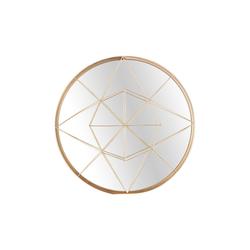 Spiegelprofi Metallspiegel Franka in Gold-Optik, rund, 40 cm