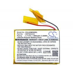 Powery Akku für Wireless Kopfhörer Astro Gaming A50 / Typ SRP603443, 3,7V, Li-Polymer