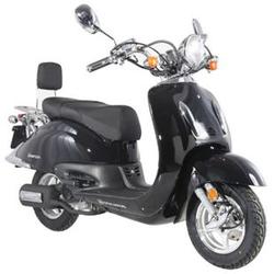 Alpha Motors Motorroller Retro Firenze 125 ccm 80 kmh schwarz