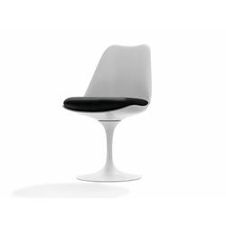 Stuhl Saarinen Tulip Knoll International weiß, Designer Eero Saarinen, 81x49x53 cm