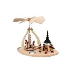 SIGRO Weihnachtspyramide Holz Tischpyramide