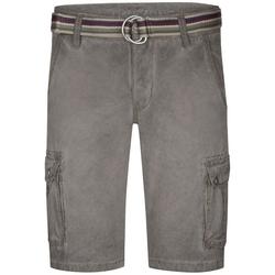 TIMEZONE Shorts Maguire mit 100% Baumwolle grau W 34