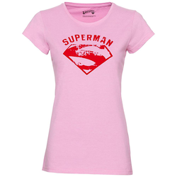 GOZOO x Supergirl und Superman Damen T-Shirt GZ-1-SUP-247-F-PM-1 - M