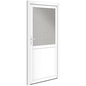 RORO Türen & Fenster Nebeneingangstür OTTO 23, BxH: 98x198 cm, weiß, ohne Griffgarnitur