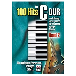 100 Hits in C-Dur  für Keyboard  Klavier  Gitarre - Buch