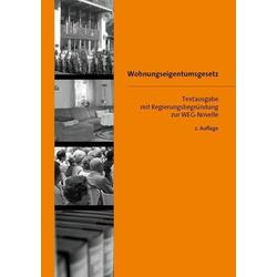 Wohnungseigentumsgesetz (WEG) als Buch von