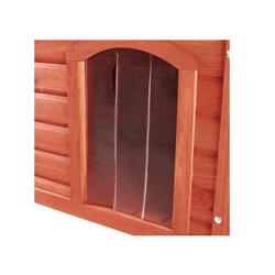 TRIXIE Kunststofftür für Hundehütte 22x35 cm