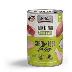 MACs Dog Hühnchen & Lamm 400 g (Menge: 6 je Bestelleinheit)