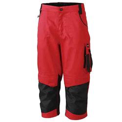 Workwear 3/4 Bundhose CORDURA® - (red/black) 60