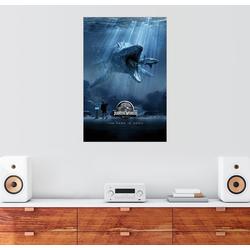 Posterlounge Wandbild, Jurassic World - Mosasaurus 60 cm x 90 cm