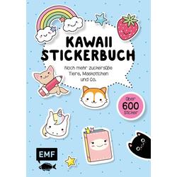 Kawaii Stickerbuch - Band 2 als Buch von