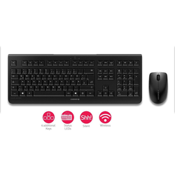Cherry DW 3000 Wireless Desktop-Set
