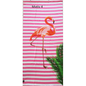 leichtes Microfaser Strandtuch Badehandtuch Motiv Anker , Flamingo , Ananas