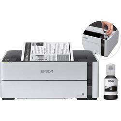 Epson EcoTank ET-M1170 Schwarzweiß Tintenstrahl Drucker A4 LAN, WLAN, Duplex, Tintentank-System
