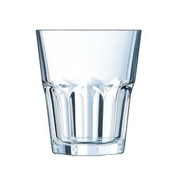 Arcoroc Schnapsglas Granity, Schnapsglas Shotglas Stamper 45ml Glas transparent 12 Stück Ø 5 cm x 5.7 cm