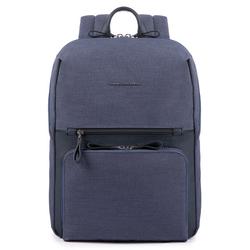 Piquadro Tiros Rucksack 39 cm Laptopfach blue