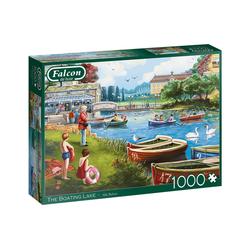 Falcon Puzzle 11252 Falcon – The Boating Lake (1000 Teile), 1000 Puzzleteile bunt