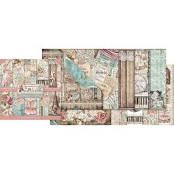 Stamperia Motivpapier Scrapbook-Block 'Passion', 10 Bogen, 30,5 x 30,5 c, 10 Bogen, 30,5 cm x 30,5 cm