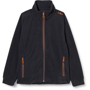 CMP Jungen Fleece Jacke 3H14714, Antracite-Flash Orange, 110