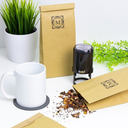 Teetüten - Blockbodenbeutel -
