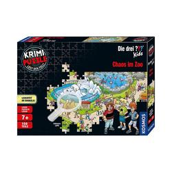 Kosmos Puzzle Krimipuzzle Die drei ??? Kids - 150 Teile - Chaos, Puzzleteile