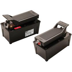 BGS Fußpumpe hydraulisch, 689 Bar, 10.000 PSI schwarz