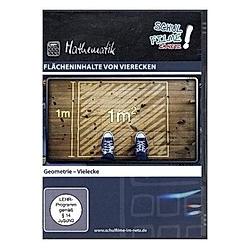 Flächeninhalte von Vierecken  1 DVD - DVD  Filme