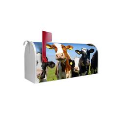 banjado Briefkasten US Mailbox Motiv Kühe