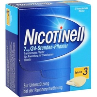 Nicotinell 24-Stunden 7 mg Pflaster 21 St.