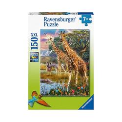 Ravensburger Puzzle XXL-Puzzle Bunte Savanne, 150 Teile, Puzzleteile