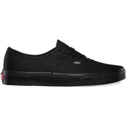 Vans - Authentic Black/Black - Sneakers - Größe: 10,5 US