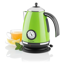 Wasserkocher Teekessel 1,7l 2200W grün »Aquavita Chalet«, Wasserkocher, 47005147-0 grün grün