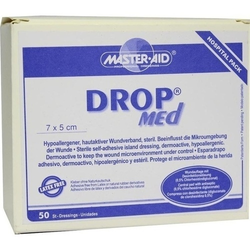 DROP med 5x7 cm Wundverband steril Master Aid 50 St.